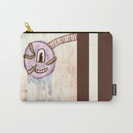 Furry Paint Monster Carry-All Pouch