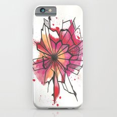 Pink and yellow Flower Explosion  iPhone 6s Slim Case