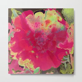 big abstract flower Metal Print