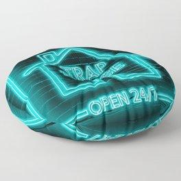 Trap House Neon Floor Pillow