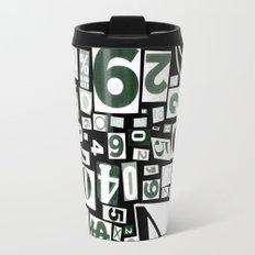 Numbers by Friztin Travel Mug