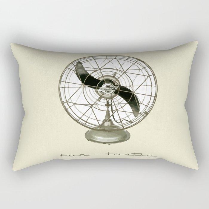 Fan - tastic Rectangular Pillow