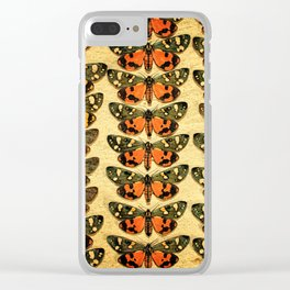 The Butterfly Collection 6 Clear iPhone Case