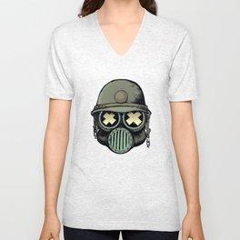 War Skull v2 Unisex V-Neck