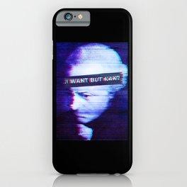 Philosopher Kant funny Meme iPhone Case
