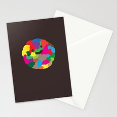happy colour ball Stationery Cards