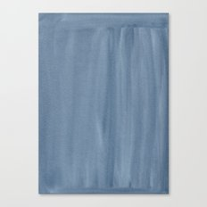 Painted Watercolour Paper - Blue Canvas Print