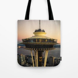 Space Needle (close-up) Tote Bag