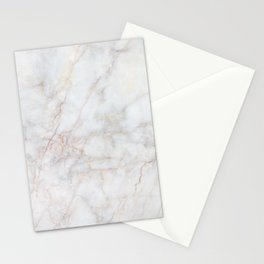 White Marble 004 Stationery Cards