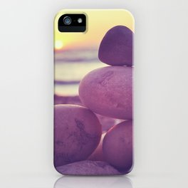 Rockin' the sunset iPhone Case