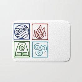 The 4 elements Bath Mat