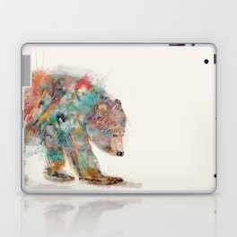 into the wild (the grizzly bear Laptop & iPad Skin