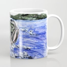 Jumping Bass Coffee Mug