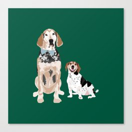Virgil and Peanut Butter Canvas Print