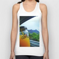 aloha Tank Tops featuring Aloha by Lyss Herrera