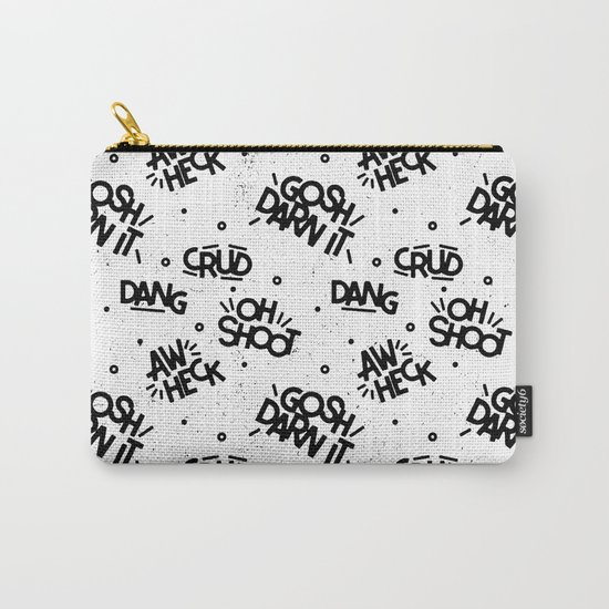 PG Cussin' Pattern Carry-All Pouch