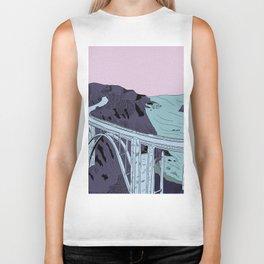 Bixby Creek Bridge Biker Tank
