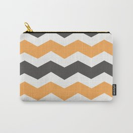 Halloween Chevron Carry-All Pouch