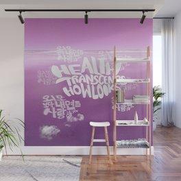 Health Transcends – Blush Wall Mural
