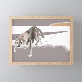 Totem Russian Wolf Framed Mini Art Print