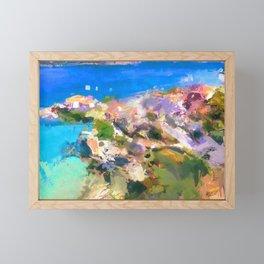 Memories of Greece Framed Mini Art Print