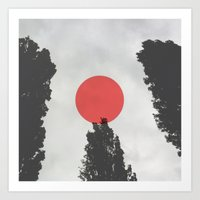 giants Art Prints featuring Giants by Kerry_fiN