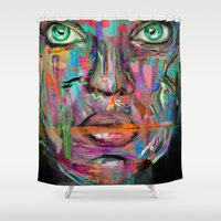 wonder Shower Curtains featuring Wonder by Archan Nair