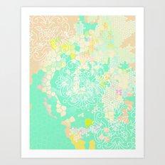 floral 011. Art Print