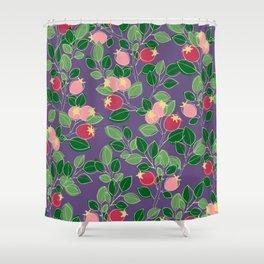 Rosehips Shower Curtain