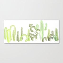 cacti friends Canvas Print