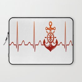 Sailor Heartbeat Laptop Sleeve