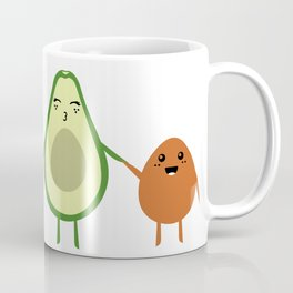 AVOCADO MOMMY AND AVOCADO KID Coffee Mug