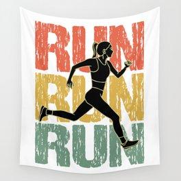 Run Run Run Wall Tapestry