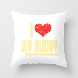 If you love them tell them! Makes a happy and touching tee design this holiday!  Simple gift too!  Throw Pillow
