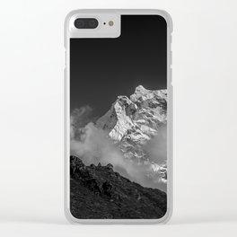 Himalaya mountain Clear iPhone Case