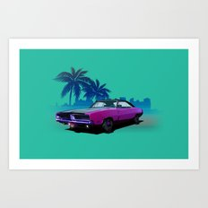 We don't need no roads... Art Print
