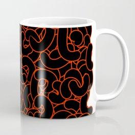 Abstract Black Nuts Coffee Mug