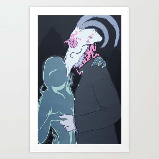 There's No Sunrise in the Abyss Art Print