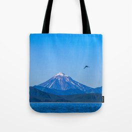 Kamchatka, Koryaksky Volcano Tote Bag