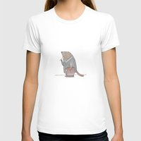 beaver T-shirts featuring Dr Beaver by Yiting Lee