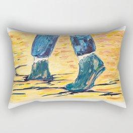 X voYages de Zed (toile 5 - série 1) Rectangular Pillow