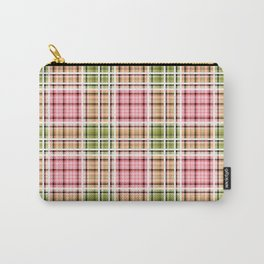 Checkered background.4 Carry-All Pouch