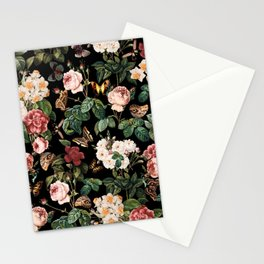 Floral and Butterflies Stationery Cards