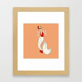 Art Print Poster Gift - Overboard Goldie Hawn Mermaid Framed Art Print