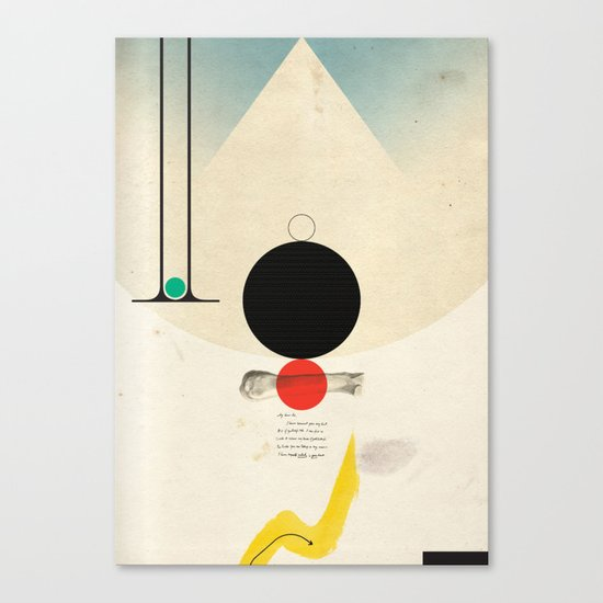 Oneonone Canvas Print