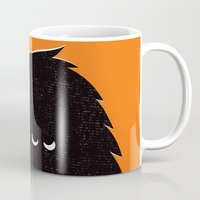 monster Mugs featuring Monster by Spore