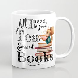 Tea & Books Coffee Mug