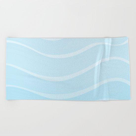 Light Sea Beach Towel