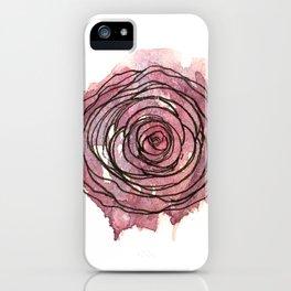 english pen rose iPhone Case