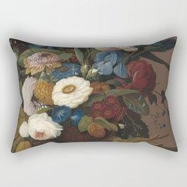 Severin Roesen Still Life Rectangular Pillow